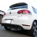 TEZZO プレミアムスパイラルマフラー for フォルクスワーゲン ゴルフ6 GTI