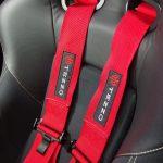 TEZZOアルファロメオ4C専用5点式シートベルト取付キット
