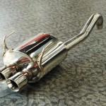 TEZZOスポーツマフラー(for FIAT 500 1.4)