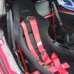 TEZZOアルファロメオ4C専用5点式シートベルト取付キット ver.2